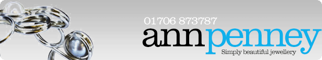 Advertising banner for Ann Penney Jewellery in Rossendale