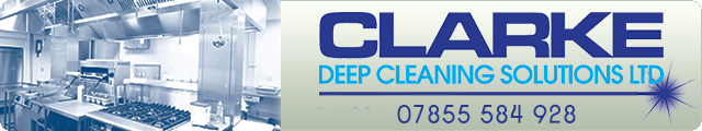 Advertising banner for Clarke Deep Cleaning Services Ltd in Rossendale