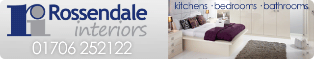 Advertising banner for Rossendale Interiors in Rossendale