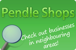 Advertising banner for Pendle Shops